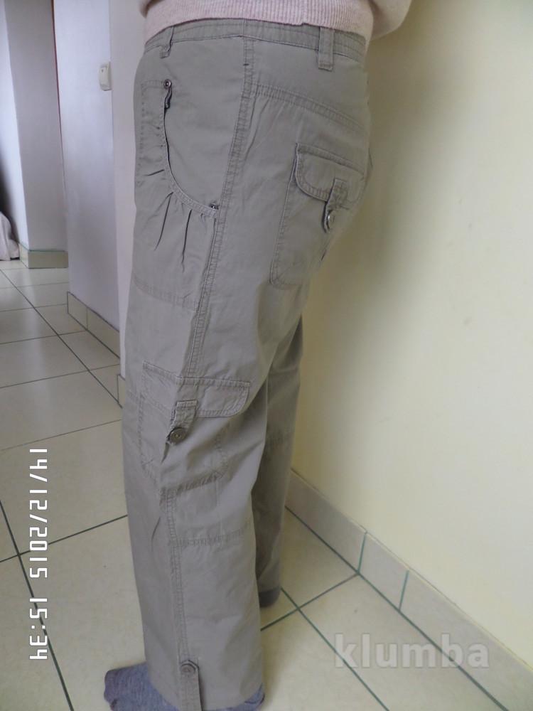 літні коттонові штани L-XL уп-14 фото №1 a1981415ef0f1