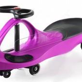 + видео!!! машинка Smart сar pu фиолетовая полиуретан.колеса. SM-PP