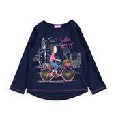 16-154LCW 10-11 лет(рост 140-146) Детская кофточка Лонгслив кофта для девочки футболка реглан рубашк