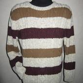 На 6 лет Теплый модный свитер Next мальчику