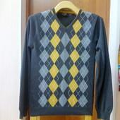 Мужской свитер с ромбами CedarWood State р-р XS