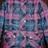 Демисезонная, теплая зима  куртка рост 128 см