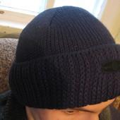 Мужская шапка с отворотом