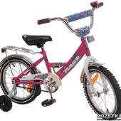 Велосипед Марс 14(розовый). ВК 14  р/ф. Доставка бесплатно