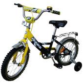 Велосипед Марс 20 тормоз+эксцентрик (желтый/черный). С2001 ж/ч