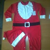 Костюм Санта, Дед Мороз