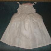 нарядное платье снежинки 4-6 лет состояние отличное