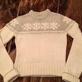 Шерстяной свитер Abercrombie&Fitch, бренд, оригинал, S\M