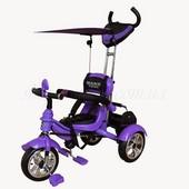 Велосипед 3-х колесный Mars Trike (фиолетовый). артикул KR01 фіолетовий