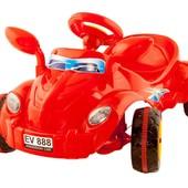 Педальный автомобиль с зеркалом Молния КВ 09-903