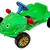 Каталка 09-901 Авто педальный Herby