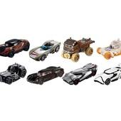 Hot Wheels Star Wars Character Cars, звездные войны, в ассортименте