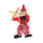 Кукольный театр - Марионетка Пинокио (Буратино, клоун)