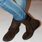 Ботинки Shamp Германия, кожа, зима оригинал 41 р