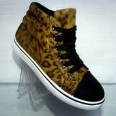 Ботинки леопард Т612