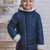 Куртка зимняя для мальчика 91 (2 цвета)