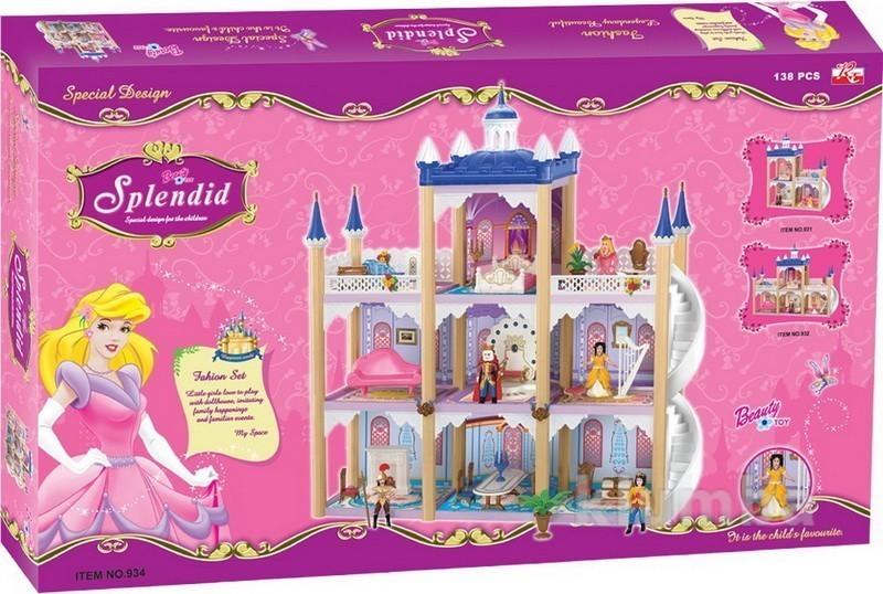 Замок принцессы 3-этажный фото №1