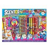 Scentos Ароматный набор для творчества Фруктомания маркеры,ручки, карандаши,наклейки,раскраска