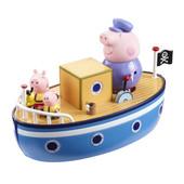 Игровой набор Peppa Морское Приключение кораблик, 3 фигурки новый