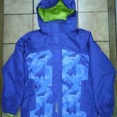 лижна куртка Crivit  134-140 146-152 158-164 пікселі