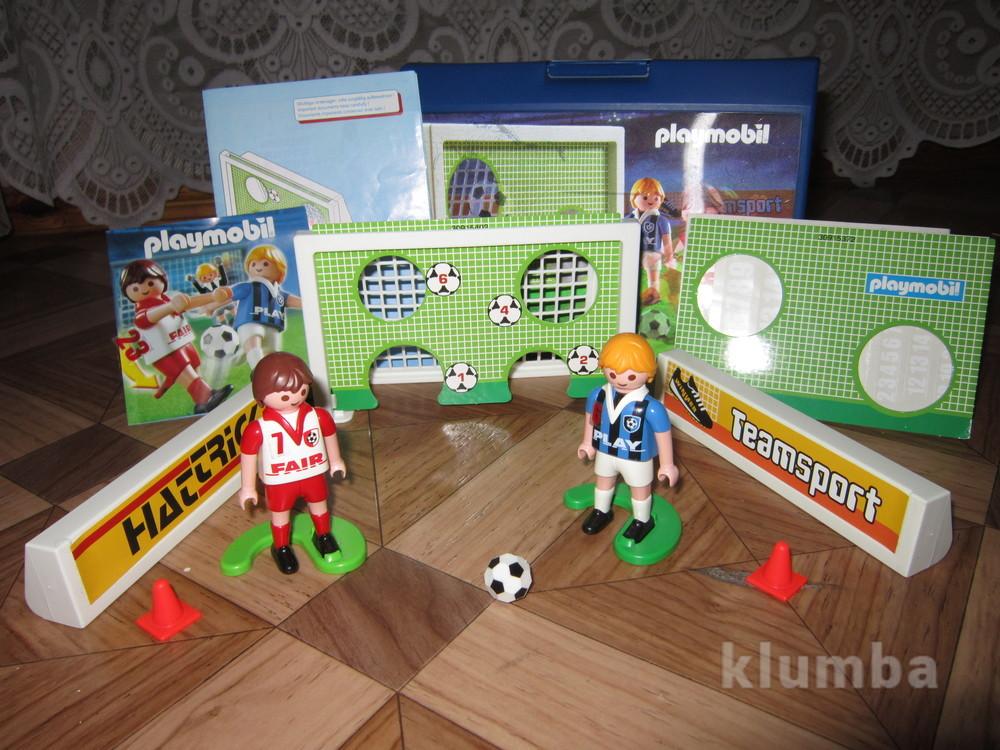 4+ playmobil sports two soccer players игровой набор фото №1