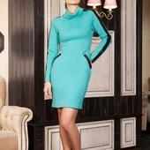платье цвет мята  L-XL