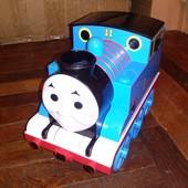 большой поезд Томас с мыльными пузырями