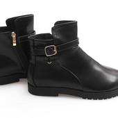 Ботиночки ботинки туфли с заостренным носком Польша