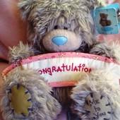 Игрушка мишка Me to you Teddy с плакатом 15 см