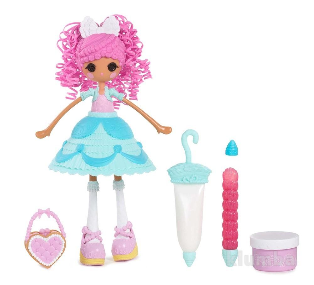 Кукла lalaloopsy girls серии lalabration глазурина 25см с аксессуарами фото №1