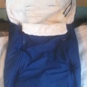 Чехол в каляску, муфта, матрасик, спальный мешок