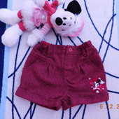 Тепленькі шортіки з Міні від Disney