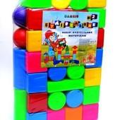 Строительные элементы блоки строитель №2 Бамсик 095/2