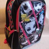 Школьный рюкзак Monster High для девочек из сша ранец портфель