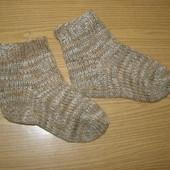 Носки вязаные на 4-6 лет