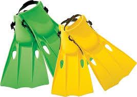 Ласты для плавания Intex 55936 (р-р 35-37) фото №1