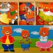 Набор «Три медведя», мди артикул: Д164