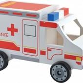 Машина «Скорой помощи», Мир деревянных игрушек Артикул: Д304