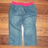 Лёгенькие Супер-джинсы на 9-12 мес. Как новые! УП=10 грн.