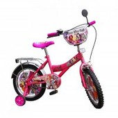 Велосипед 2-х колес 16-со звонком,зеркалом,руч.тормоз