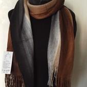 Теплый мужской шарф. Разные цвета