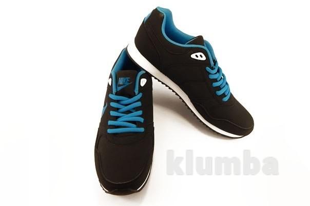 Кроссовки мужские Nike Air черные для бега и на каждый день фото №1
