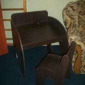 детская парта с стульчиком новая