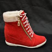 Сникерсы-ботинки замки IK-1437 (4 цвета)