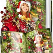 Дизайн Новогодней фотокниги с Вашими фото! Сохраните самые дорогие воспоминания!
