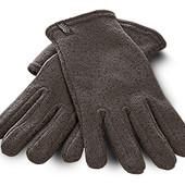 Теплые вязаные перчатки от тсм Tchibo размер 9,5
