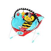 Шезлонг качалка 700 Бабочка с вибро режимом и одеяльцем детская