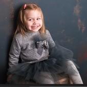Нарядный костюм для девочки Лялька р.104-128 ТМ Ангела Рош
