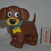 Фирменная игрушка собака щенок виниловый Mattel Маттел