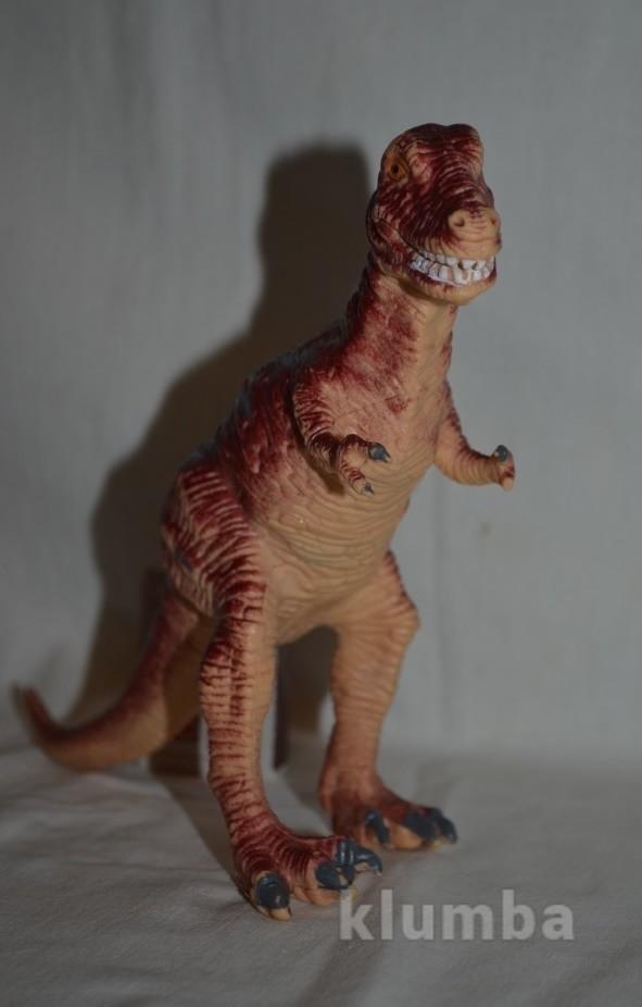 Динозавр tyrannosaurus rex коллекционный 1997 год раритетный фото №1